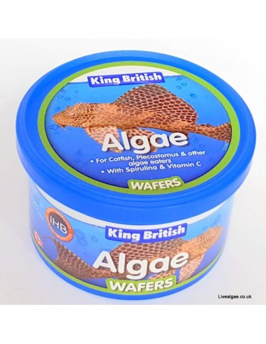 King British Algae Wafers