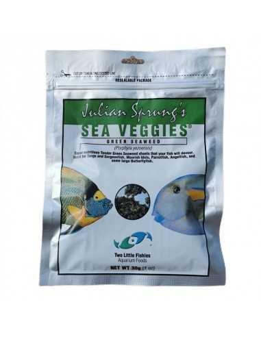 Two Little Fishies Julian Sprung's Sea Veggies Green Seaweed Herbivore Food