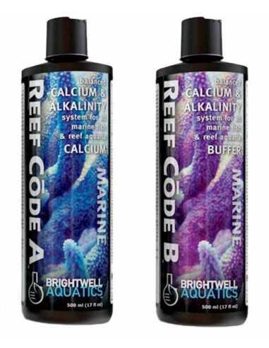 BRIGHTWELL Aquatics Reef Code A and B Supplement Marine Aquarium