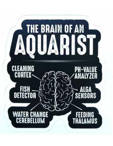 Design Sticker Aquarium - The Brain Of An Aquarist