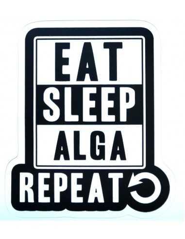 Design Sticker Aquarium - Eat Sleep Alga Repeat