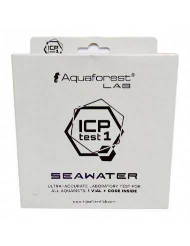 Aquaforest LAB ICP Test 1 Seawater Marine Aquarium