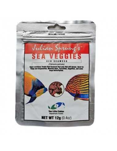 Two Little Fishies Julian Sprung's Sea Veggies Red Seaweed Herbivore Food